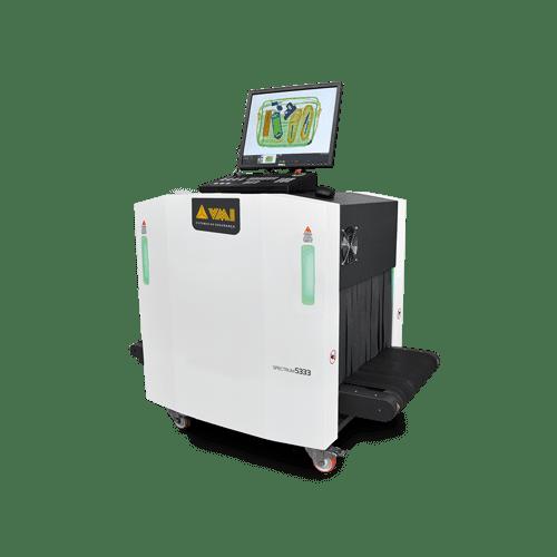 Escáner rayos x para empresa logística