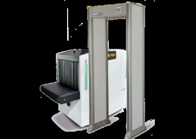 Integración rayos x con arcos detectores