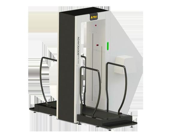 escáner de rayos x para personas